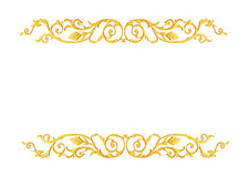 Free Ornament Elements, Vintage Gold Floral Designs Stock Image - 61451111
