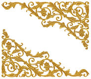 Free Ornament Elements, Vintage Gold Floral Designs Stock Photography - 62922762