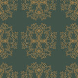Ornament, ethno, Indian seamless pattern. Royalty Free Stock Photo