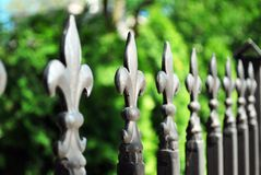 Ornament fence Royalty Free Stock Image