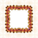 Ornament floral pattern frame Royalty Free Stock Photography