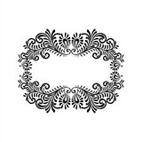 Ornament Floral Vector Ilustration.  Royalty Free Stock Images