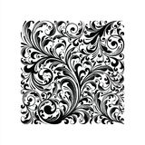 Ornament Floral Vector Ilustration.  Royalty Free Stock Image