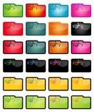 Ornament Folder Set. Check My Portfolio for Similar İmage Royalty Free Stock Image