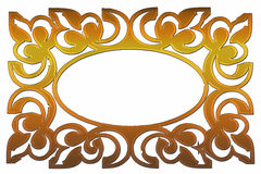 Ornament frame Stock Image