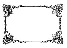 Ornament frame Stock Photo