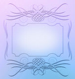Ornament frame design resource Stock Images