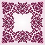 Ornament frame. Ornamental pattern for frames and borders Royalty Free Stock Photo