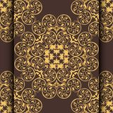 ornament frame in Victorian style and place for your text. Element for design. It can be used for decorating of invitati Stock Photography