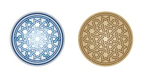Ornament, geometric, abstract Royalty Free Stock Photos