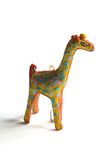 Ornament-Giraffe royalty free stock image