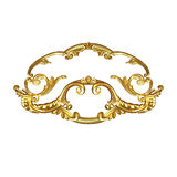 Ornament gold Royalty Free Stock Images
