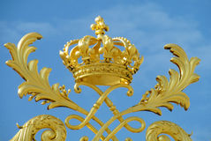 Ornament golden crown Royalty Free Stock Image