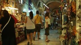 Ornament in Grand bazaar Izmir. IZMIR, TURKEY - JULY 2015: Ornament in Grand bazaar Izmir stock video footage