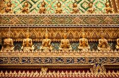 Ornament Grand Palace in Bangkok Stock Photography