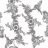 ornament kwiecisty Fotografia Royalty Free