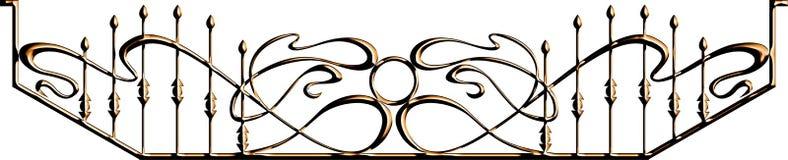 Ornament for lattice Stock Image