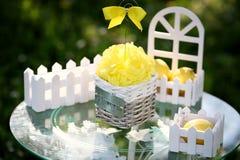 Ornament with lemon Stock Photos