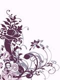 Ornament in lilac Stock Photography