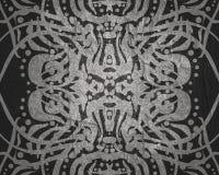 Ornament linie i krzywy Obraz Stock