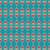 Ornament lotus Stock Image