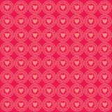 Ornament Love Pattern Background Pink royalty free illustration