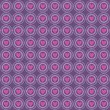Ornament Love Pattern Background Purple stock illustration