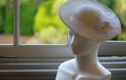 Ornament of the manikin by the window Royalty Free Stock Photography
