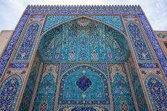 Ornament of a mosque in Yazd Royalty Free Stock Photos