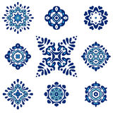 Ornament motif set Royalty Free Stock Images