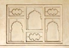 Ornament na ścianie w India Obrazy Stock