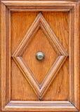 Ornament na Drewnianych drzwiach Zdjęcia Stock