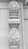 Ornament na filarach Zdjęcia Royalty Free