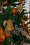 Ornament od dekorującej choinki Obraz Stock