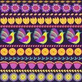 Ornament od ptaków, ziele i kwiatów, Fotografia Royalty Free