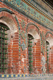 Ornament Of Facade Of Old Chapel Stock Photo