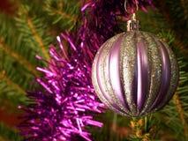 Ornament op de Kerstmisboom Stock Foto's
