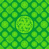 Arabic, Islamic, Oriental, Ornament, Green Seamless pattern texture background. Vector ramadan mubarak. Ornament, Oriental, Arabic, Islamic, Green Seamless Royalty Free Stock Photography