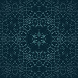Ornament Oriental vector background with tribal elements. Traditional ornament Stock Images
