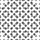 Ornament-pattern-gray-black. Vector seamless black white pattern. Vector seamless texture. Modern geometric design. Minimal design background. Intelligent design Royalty Free Illustration