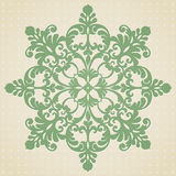 Ornament pattern in Victorian style. Vector baroque ornament in Victorian style. Element for design. It can be used for decorating of wedding invitations Royalty Free Stock Photo