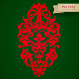 Ornament pattern in Victorian style. Vector baroque ornament in Victorian style. Ornate element for design. Toolkit for designer. It can be used for decorating Stock Photos