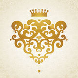 Ornament pattern in Victorian style. Vector baroque ornament in Victorian style. Ornate element for design. Toolkit for designer. It can be used for decorating Royalty Free Stock Photos