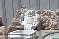Ornament of plaster for facade Stock Images