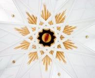 ornament podobna gwiazda Zdjęcie Royalty Free