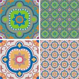 Ornament retro tiles Stock Image
