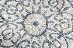 Ornament robić otoczaków kamienie Fotografia Stock