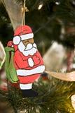 ornament Santa Zdjęcie Stock