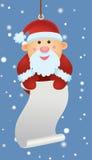ornament Santa ilustracji