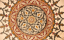 Ornament from Selimie mosque Royalty Free Stock Photo